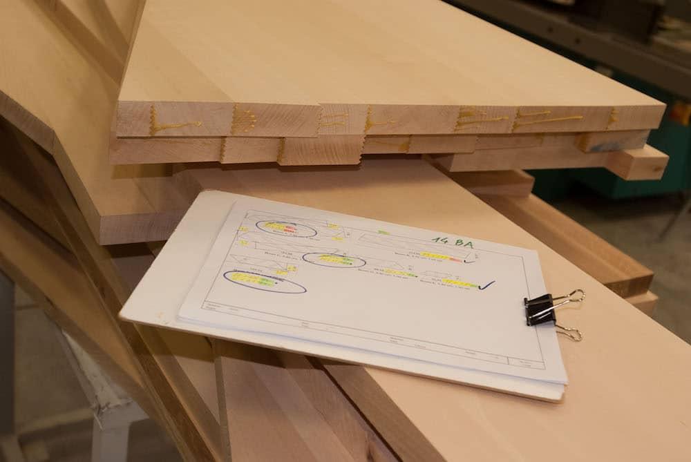 trappen en deuren Stevens Houttechniek atelier